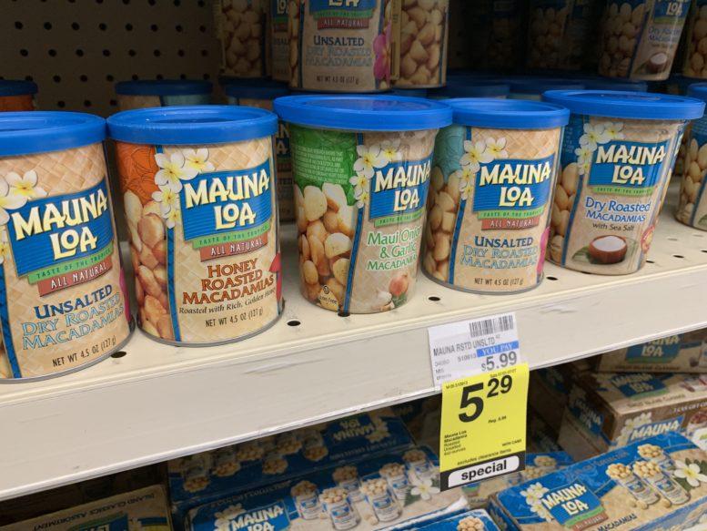 ロングスドラッグで買えるマウナ・ロアのマカダミアナッツ