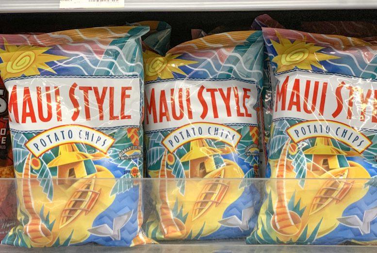 ウォルマートで買える小さいサイズのマウイオニオンチップス