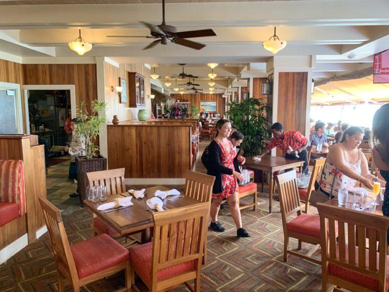 アウトリガー・ワイキキ・ビーチ・リゾートの中にあるレストラン「フラ・グリル」