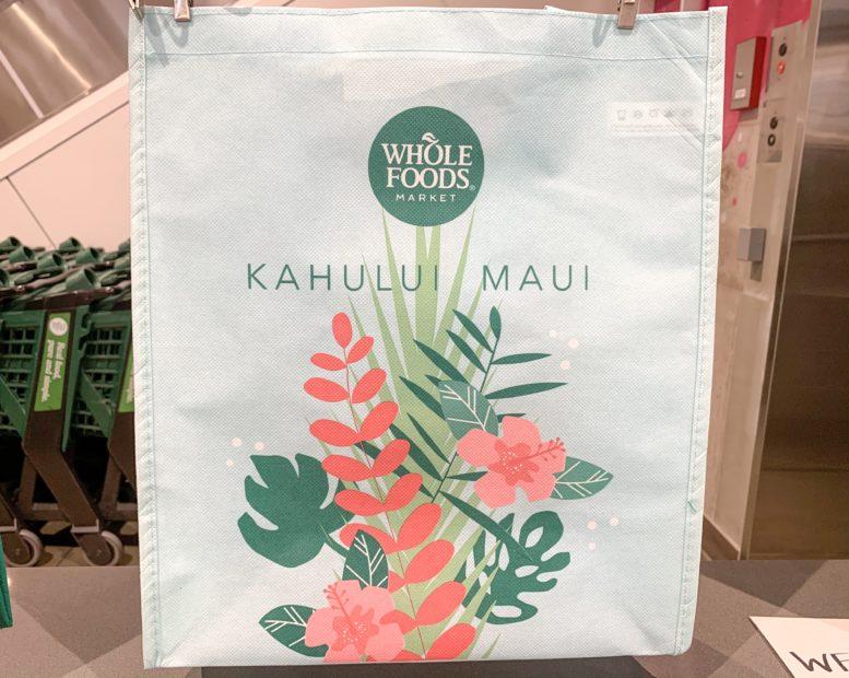 ハワイ エコバッグ ホールフーズ